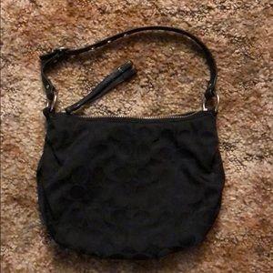 Coach purse black